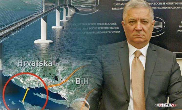 Fehim Škaljić za GLOBAL CIR: Prvo definisati granice sa Hrvatskom pa tek onda razgovarati o gradnji mosta